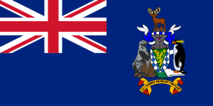 Flag of South Georgia and the South Sandwich Islands